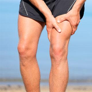 Симптомы и лечение растяжений и частичных надрывов мышц и связок бедра. Растяжение мышц и связок бедра